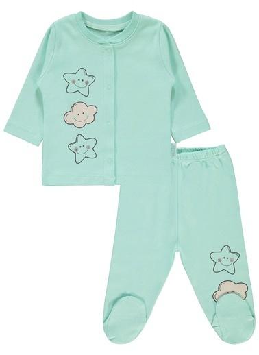 Kujju Pijama Takım Renkli